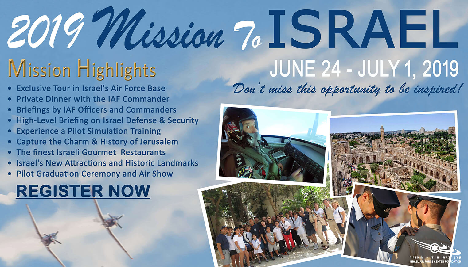 Mission to Israel 2019